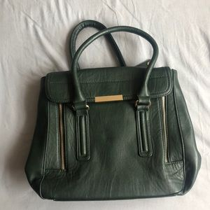 Forever 21 Hunter green purse